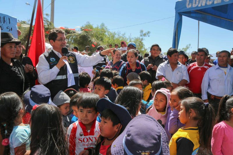 Cuchipampa contará con agua potable y alcantarillado