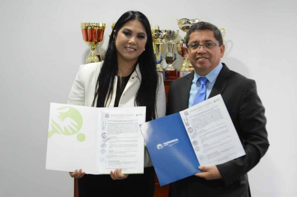 MPH firmó convenio para la práctica de tenis de mesa