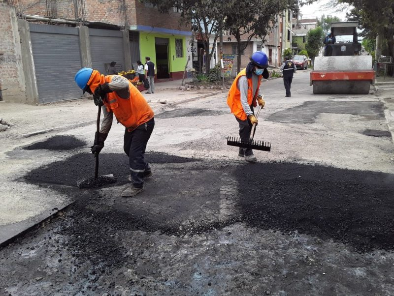 Rehabilitando vías urbanas