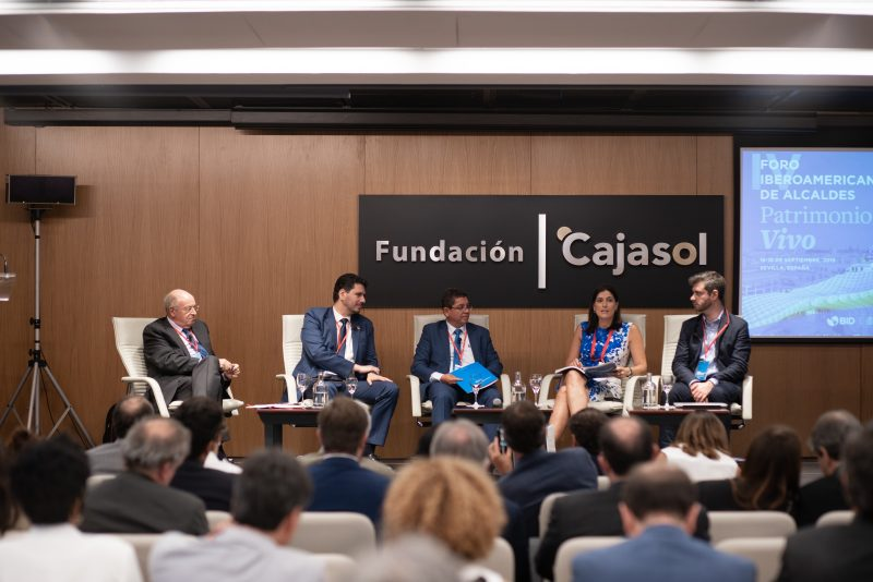 Alcalde de Huamanga participa en IV Foro Iberoamericano: Patrimonio Vivo