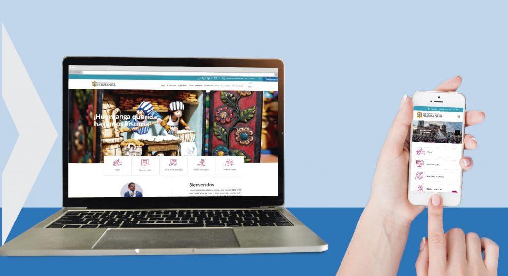 Nueva web y aplicativo móvil