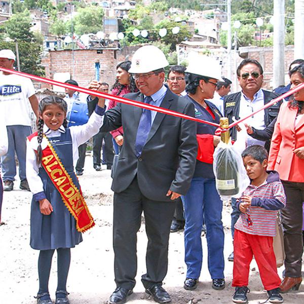 En tiempo récord Cuchipampa ya cuenta con agua potable