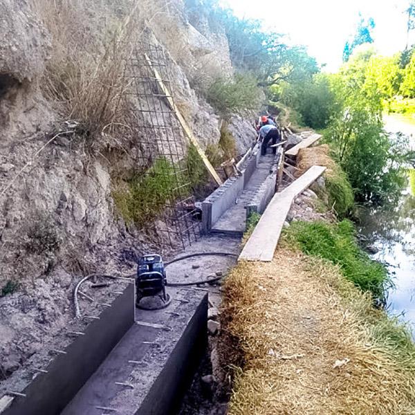 Pongora, Kallpanchik y San José de Viñaca contarán con moderno sistema de riego