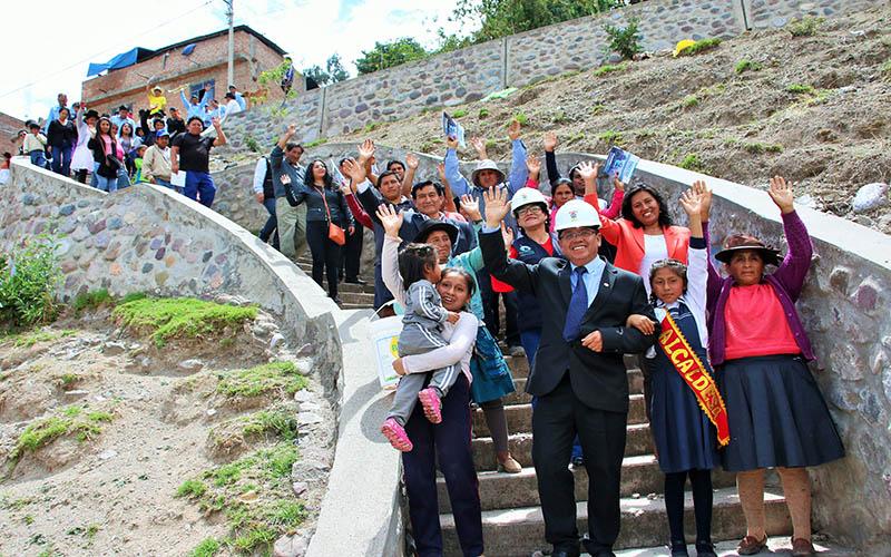Cuchipampa ya cuenta con agua potable y alcantarillado