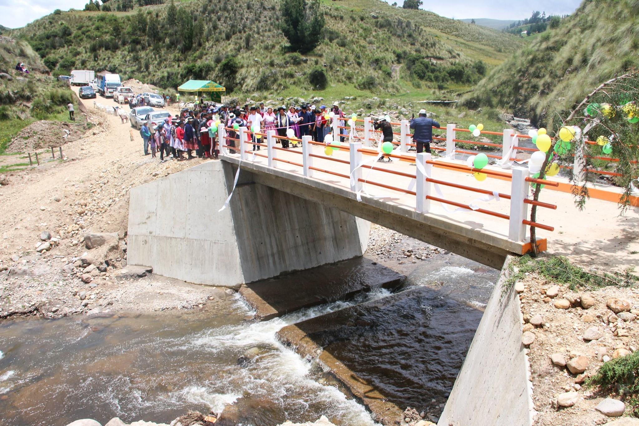 Carretera y puente de integración para nuestros hermanos de Chiara