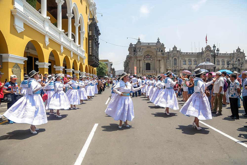El Carnaval Ayacuchano conquista la capital