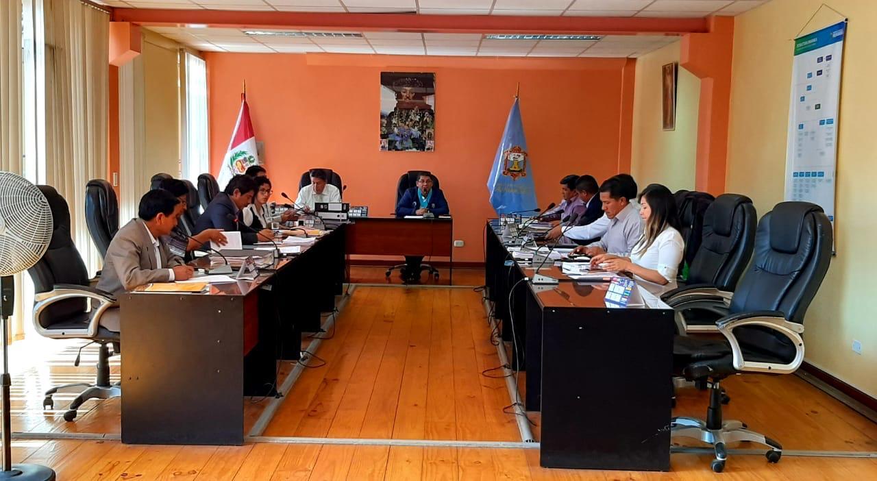 Concejo Municipal de Huamanga aprobó proyecto de Ordenanza Municipal para evitar el Coronavirus
