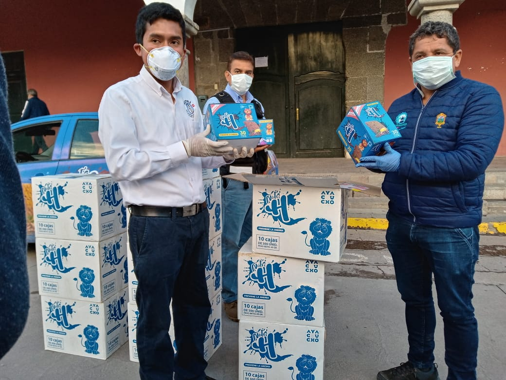 Más de 3 mil galletas nutritivas fueron donadas