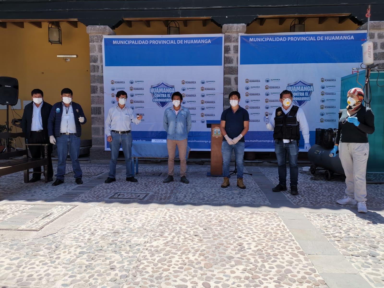 Municipalidad de Huamanga entregará aceites de eucalipto contra COVID-19