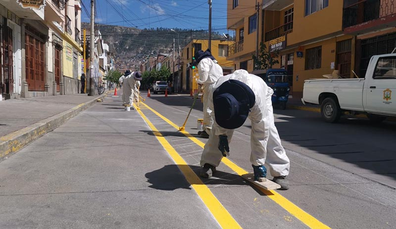 Se implementará 15 km de ciclovías en Huamanga