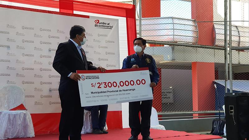 Más de 2 millones para Huamanga