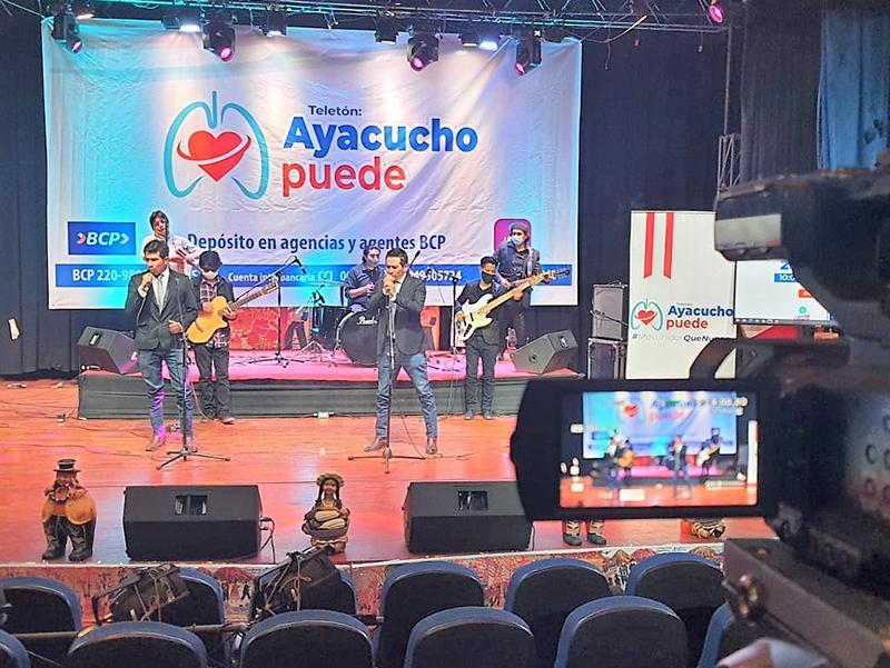 """Más de 200 mil soles para la campaña """"Ayacucho Puede"""""""