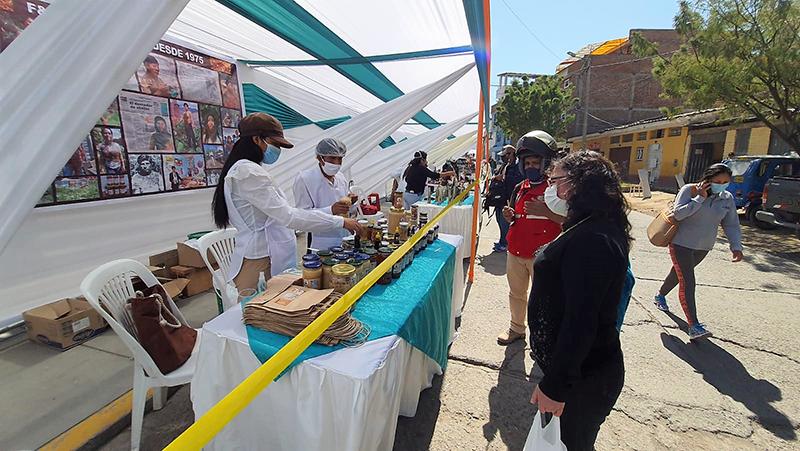 Inició la Feria Saludable Agroindustrial