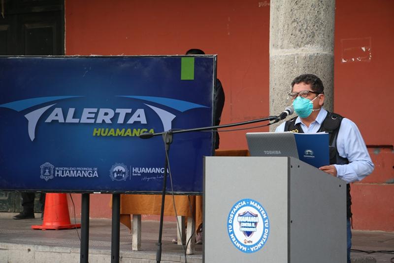 "Ya está disponible el aplicativo ""Alerta Huamanga"""