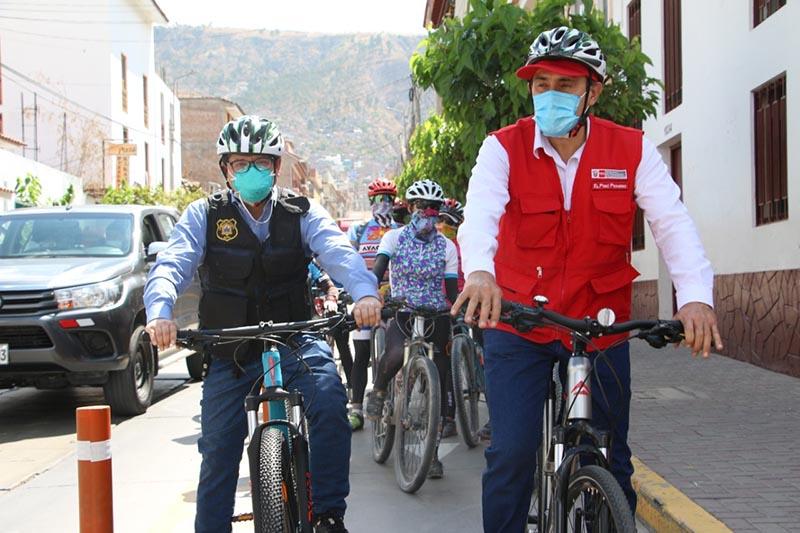 Medio millón para ciclovías en Huamanga