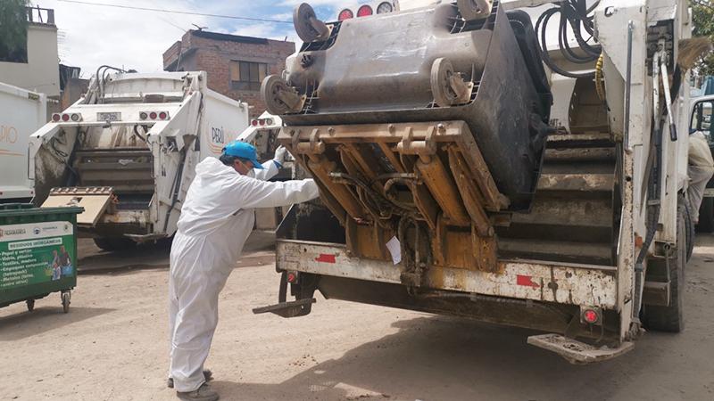 Servicio de limpieza será en horario restringido