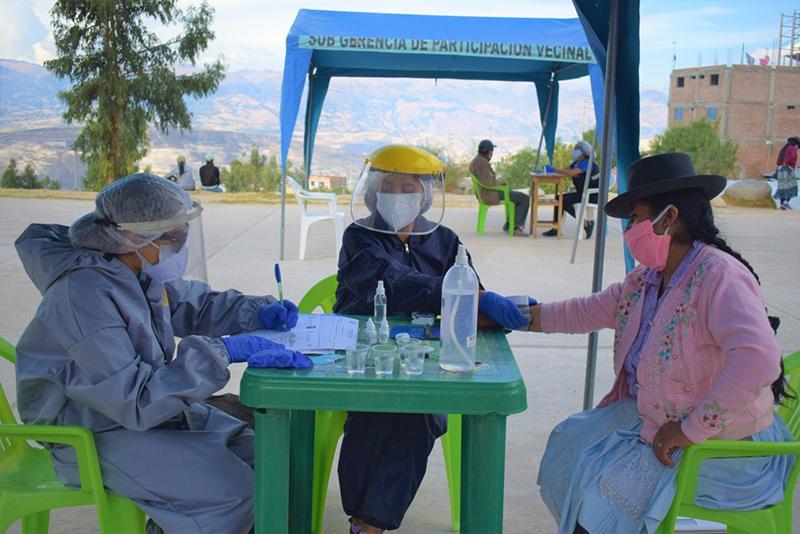 Municipalidad de Huamanga intensifica campaña preventiva contra el Covid-19