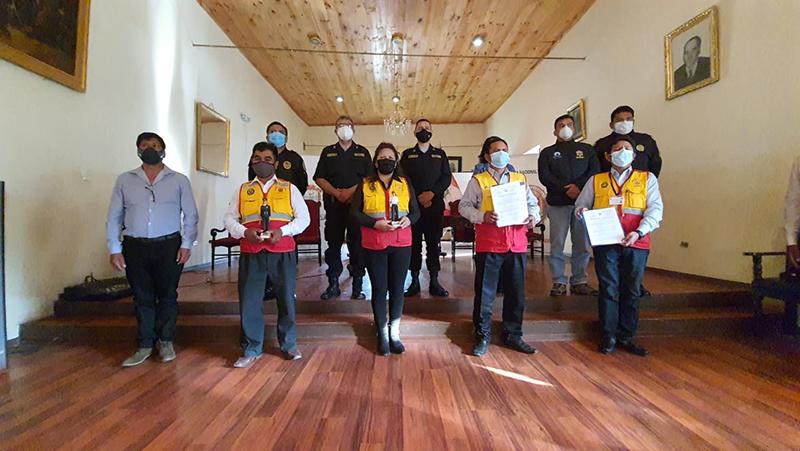 Juramentan coordinadores provinciales y regionales de Juntas Vecinales